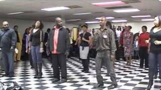 Video Jamie Foxx Line Dance Charlotte Syle MP3, 3GP, MP4, WEBM, AVI, FLV Juni 2018