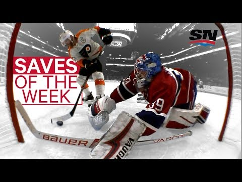 Video: NHL Saves of the Week: Lindgren's goal line stand