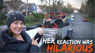 8. Wife Reacts to Crazy Fast Can Am Maverick X3 XRS!