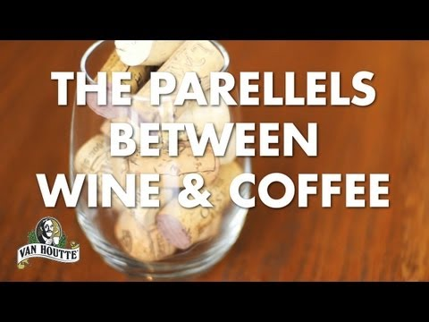 Parallels between wine and coffee