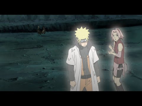 Naruto use flying thunder god technique, Naruto Meets Minato and Kushina, Naruto Saves Sakura