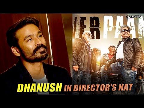 Dhanush-in-directors-hat