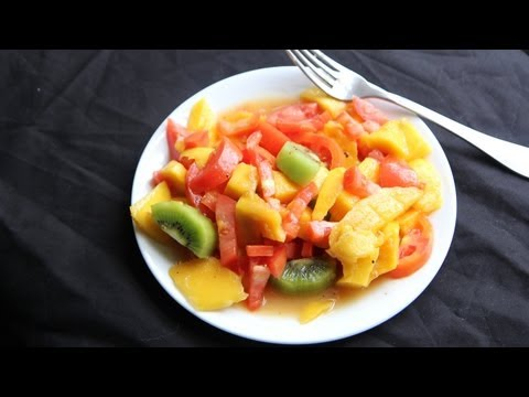 Mango Fruit Salad Recipe (9.25.12 – Day 44) Vegan, Vegetarian