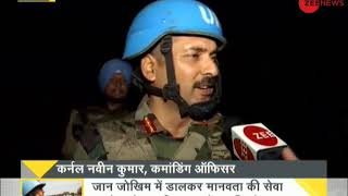 DNA: Zee News ground report, Indian soldiers are hope of peacekeeping in Congo