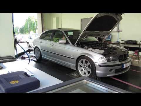 BMW E46 328i dyno run (1. run)