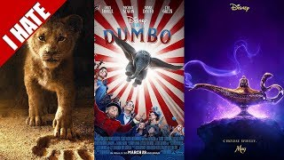 Video I HATE 'LIVE ACTION' DISNEY REMAKES MP3, 3GP, MP4, WEBM, AVI, FLV Desember 2018