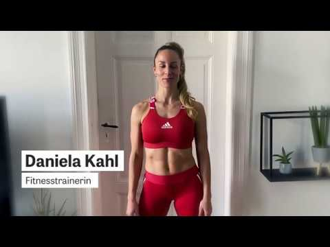 Home Work-Out with trainer Daniela Kahl