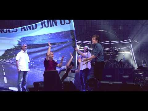 Paul McCartney divulga vídeo de show em Verona