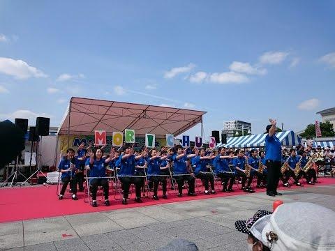 2016/05/15 mocoフェスタ2016 守谷中学校吹奏楽部Part1/2