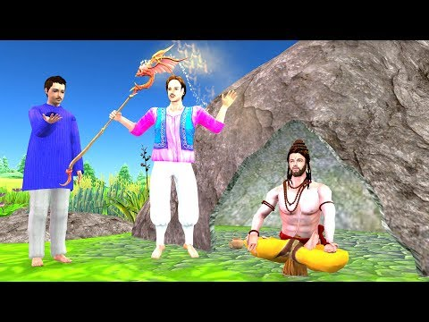 Twin Brothers Moral Story - Hindi Panchatantra Kahaniya for Kids - Cartoon Moral Stories for Kids