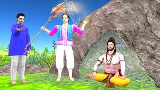 Twin Brothers Moral Story - Hindi Panchatantra Kahaniya - Fairy Tales in Hindi - Bedtime Stories