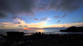 Sunset at Tanah Lot, Bali - 16/04/2014