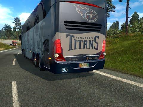 Bus Macropolo G7 1600LD Tenneessee Titans Skin