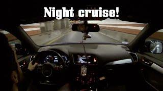 SQ5 Cruise Through Boston at Night (POV-ish Drive) by Ignition Tube