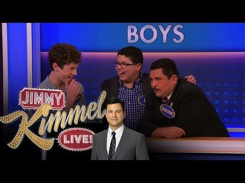 feud - Jimmy Kimmel Live - The second part of Modern Family Feud - Kids Edition The exciting conclusion of Modern Family Feud with the kids from Modern Family playi...