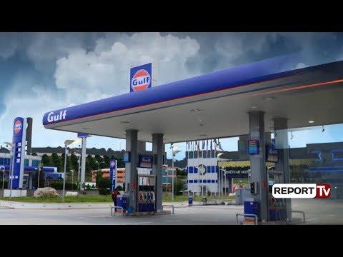"""Report TV - Kaos në tregun e karburanteve, """"arratiset"""" administratori, Tatimet bllokojnë """"Gulf""""-in"""