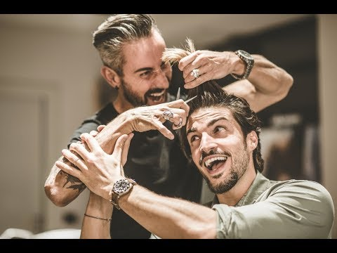 Mens hairstyles - MARIANO DI VAIO HAIR STYLE TUTORIAL 2018 - MESSY HAIRCUT FOR MEN