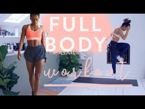 30 MINUTE FULL BODY WORKOUT | NO EQUIPMENT | Real Time | Shona Vertue