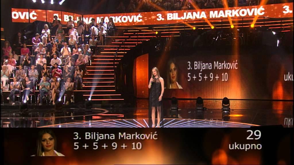 Biljana Marković – Raširi ruke, o majko stara – 44 emisija (27. 06. – polufinale)