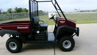 1. For Sale $10,499    Brand New  2013 Kawasaki Mule 4010 Diesel 4X4  Overview and Review