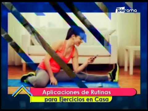 Aplicaciones de rutinas para ejercicios en casa
