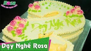 Bánh kem sinh nhật mẫu số 2 - Birthday Cake Number Two