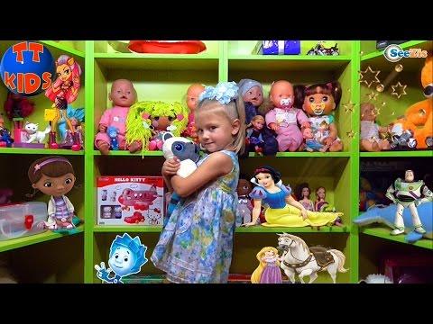 ✔Ваbу Воrn Nеnuсо Аlivе Ваrbiе / Ярослава и новый шкаф для игрушек / Vidео fоr кids/ Тоуs fоr кids - DomaVideo.Ru