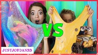 Video Mermaid Slime Vs Robot Slime / JustJordan MP3, 3GP, MP4, WEBM, AVI, FLV September 2018