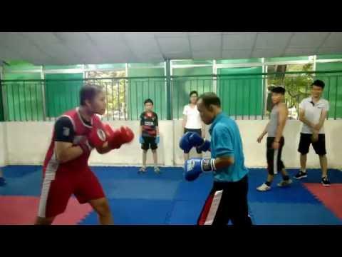 Thầy Nam U 4x sparring boxing
