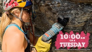 HOW TO BOLT - DEVELOPING CLIMBING in BREAKS, VA - SASHA DIGIULIAN // 10am on a TUESDAY (S2Ep6) by Sasha DiGiulian