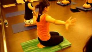 妍姿經絡瑜伽瘦手臂下面肉肉運動