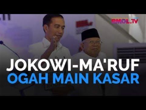 Jokowi-Ma'ruf Ogah Main Kasar