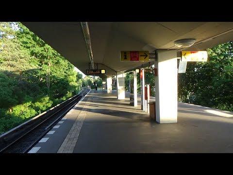U-Bahn Berlin Holzhauser Straße U6 [Full HD]