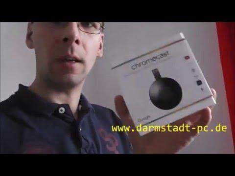 Chromecast einrichten