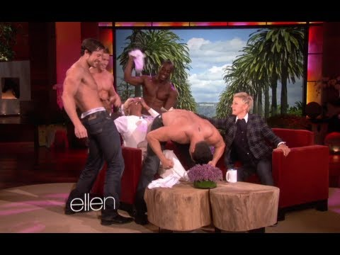 Video Video: NeNe Leakes Gets a Striptease on Ellen DeGeneres Show! download in MP3, 3GP, MP4, WEBM, AVI, FLV January 2017