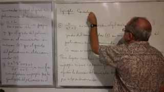 Algebra Intermedia - Lección 29 - A (fracciones Algebraicas Propias E Impropias; Expresiones Mixtas)
