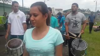 Un Ensayo másss de Banda BINR DE HEREDIA C.R. 31 DE JULIO 2016.