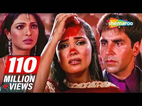 Akshay Kumar marry Lara Dutta infront of Priyanka Chopra | Andaaz movie Scene