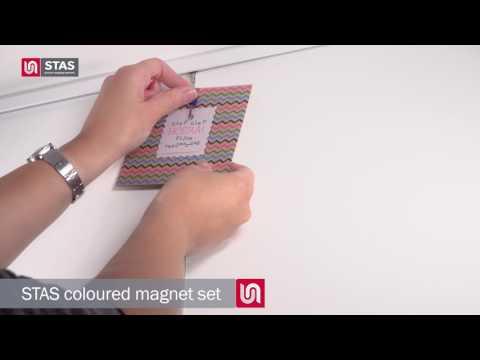 STAS magnet set colour