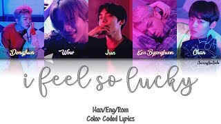 Hcue – I Feel So Lucky (Feat. A.C.E) [Color Coded English Lyrics]
