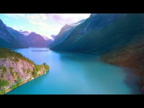 Absolutely Stunning Nature! Relaxing Celtic Music For Stress Relief. Calming Music. Music Therapy