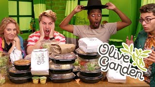 Video 27,000+ CALORIE OLIVE GARDEN MUKBANG (Squad Vlogs) MP3, 3GP, MP4, WEBM, AVI, FLV Oktober 2018