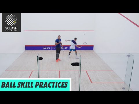 Squash Tips: Ball Skill Practices with Joey Barrington & Peter Creed