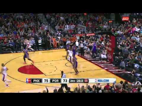 Phoenix Suns 93 – Portland Trail Blazers 96