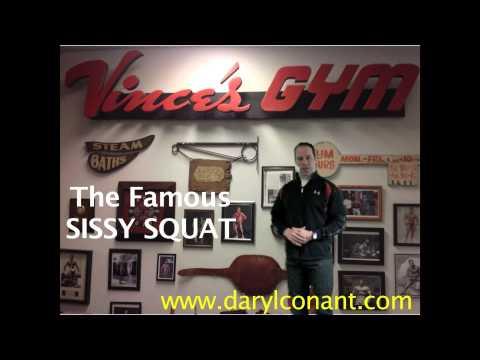 Vince Gironda's Sissy Squat