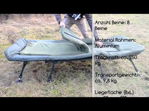 MK-Angelsport Platinum Giant Bed Chair Karpfenliege Vorstellung