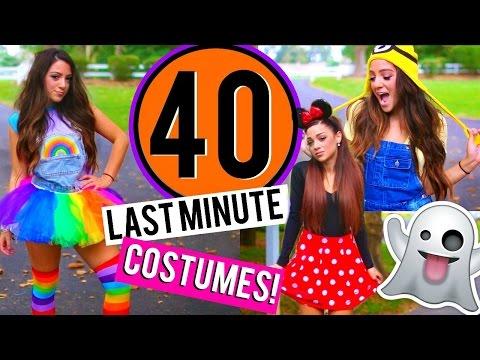 40 Last-Minute DIY Halloween Costumes! Niki and Gabi
