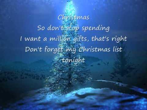 Tekst piosenki Simple Plan - My christmas list po polsku