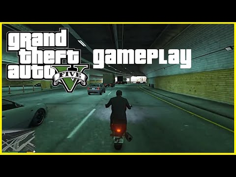 Grand Theft Auto V (GTA V) Gameplay On Core i5 (Dell Inspiron 15 3542)