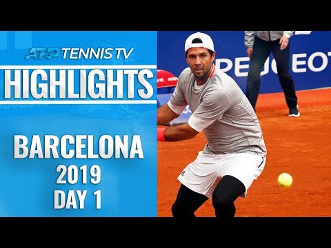 Verdasco Overcomes Lopez; Schwartzman Sets Up Thiem Showdown | Barcelona 2019 Highlights Day 1